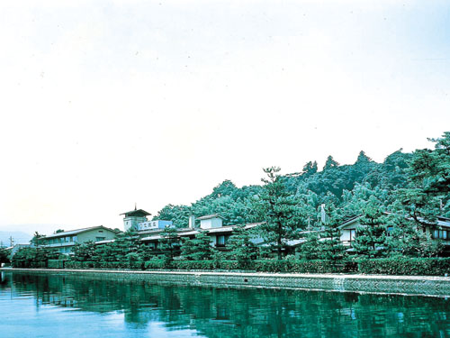 文珠荘 外観