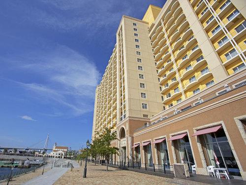 ホテル ユニバーサル ポートの外観
