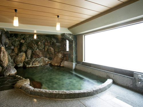 岩風呂のイメージ