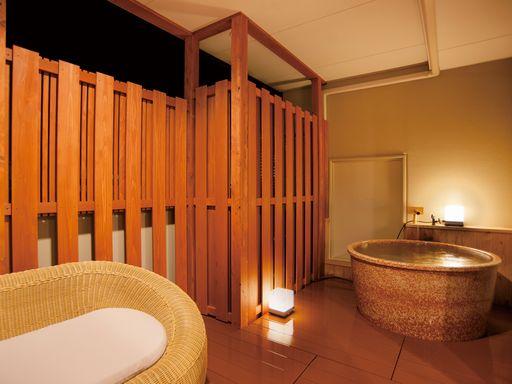 お部屋(客室露天風呂)の一例