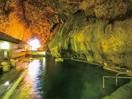 天然洞窟温泉「玄武洞」