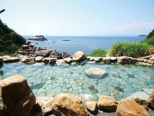 【全室露天風呂付】女性に人気の岬の湯宿