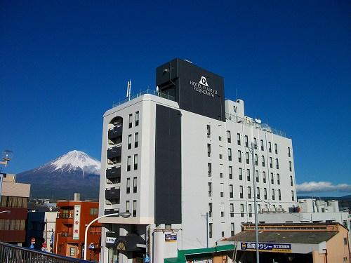 富士宮駅の目の前。首都圏・関西方面から高速バス路線多数あり!アクセス便利! 秋冬のおでかけ♪ シンプルプラン