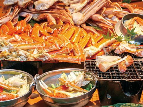 夕食バイキング(かに・海鮮バイキング)のイメージ