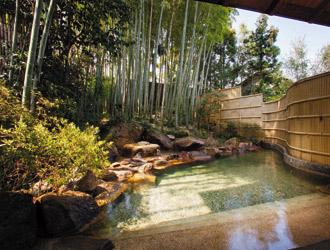 旅程山の井(割増ホテル)露天風呂