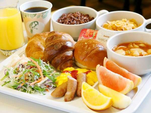軽朝食バイキングの一例