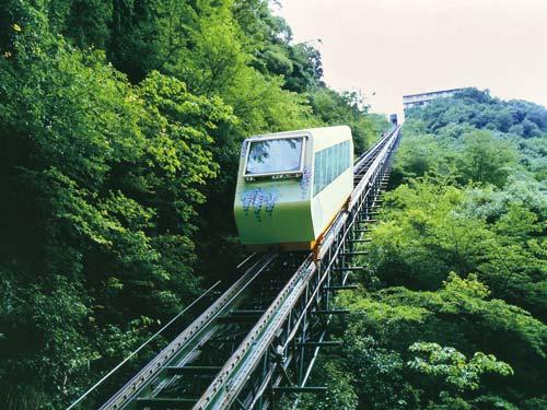 ホテル祖谷温泉 ケーブルカー(イメージ)