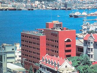 1泊目基本ホテル ホテルニュータンダ 外観のイメージ