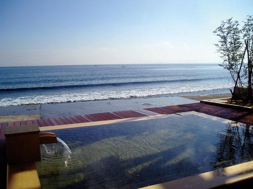 潮騒の宿 晴海 露天風呂の一例