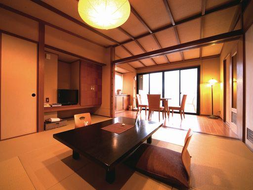 湯布院かほりの郷 はな村 お部屋(露天風呂付客室)の一例