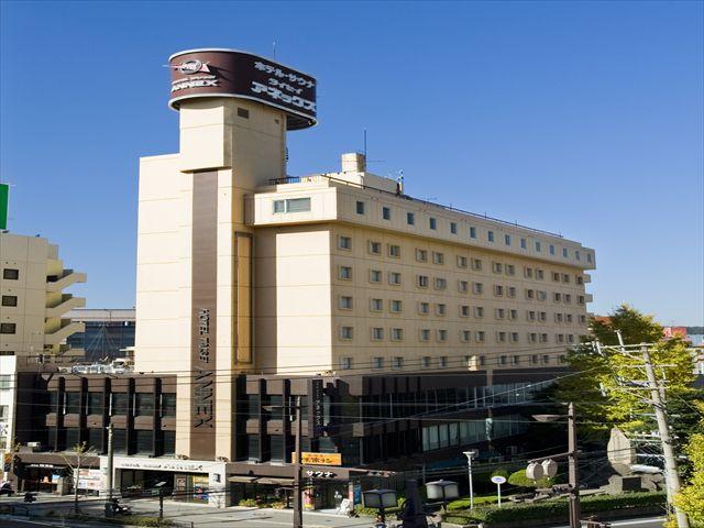 割増なしで選べるホテルの一例 「ホテル タイセイアネックス」 外観