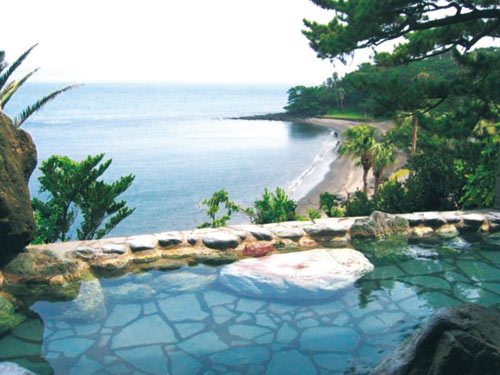 (割増ホテル)指宿いわさきホテル 露天風呂のイメージ