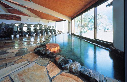 割増代金で人気の天然温泉もあるリゾートホテルに変更も♪ 「屋久島いわさきホテル」 大浴場
