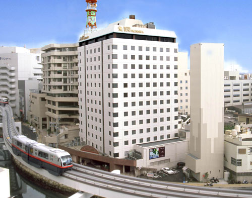 基本ホテル ホテルサン沖縄の全景・外観イメージ