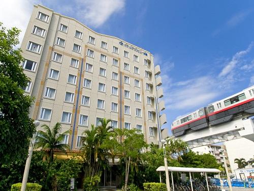 基本ホテルの一例 那覇「ホテルグランビュー沖縄」 外観