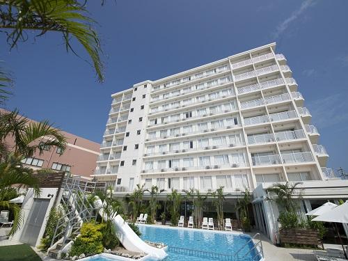 基本ホテル 豊見城「ホテルグランビューガーデン沖縄」 外観