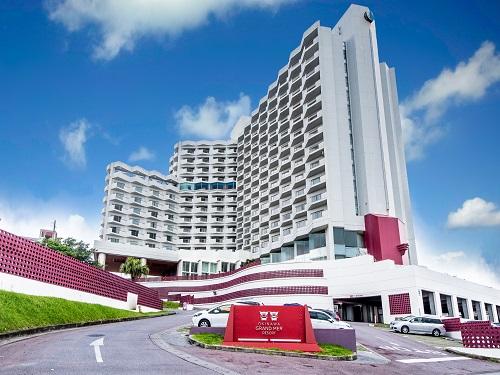 基本ホテルの一例 沖縄市「オキナワ グランメールリゾート」 外観