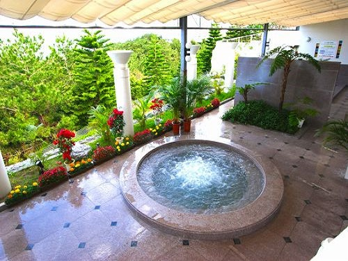 ホテル 大展望風呂「森の湯」 露天風呂