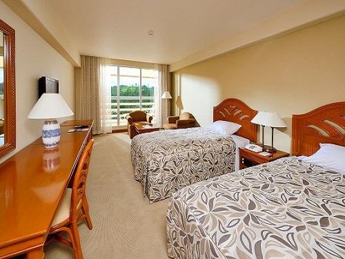 ホテル 客室(基本ルーム:スタンダードルームグリーンビュールーム)の一例、イメージ