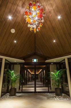 ホテル 玄関