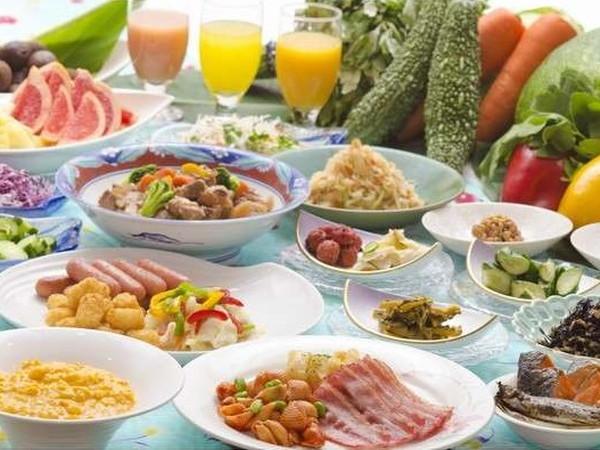 2泊目〜ホテル 朝食(和洋バイキング)のイメージ・一例