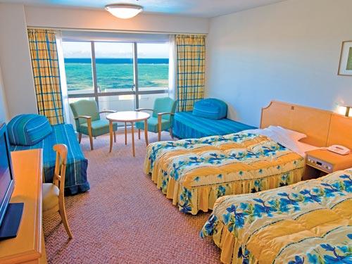 2泊目〜ホテル お部屋(基本ルーム・スタンダードツイン)の一例