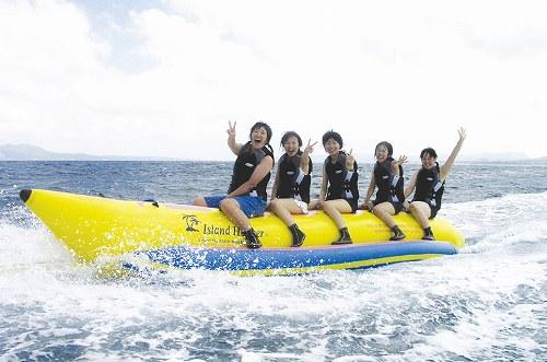 バナナボートのイメージ