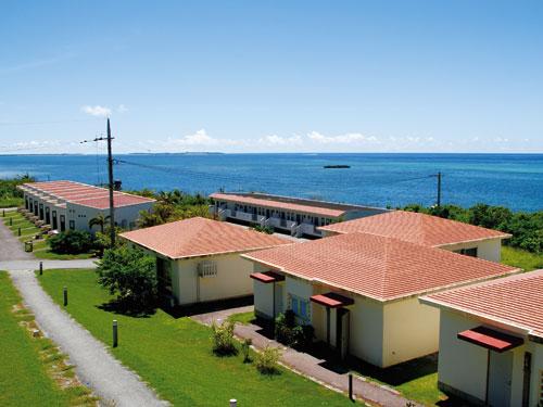 2・3泊目西表島の宿泊は「ラ・ティーダ西表リゾート」 ※画像は外観イメージ