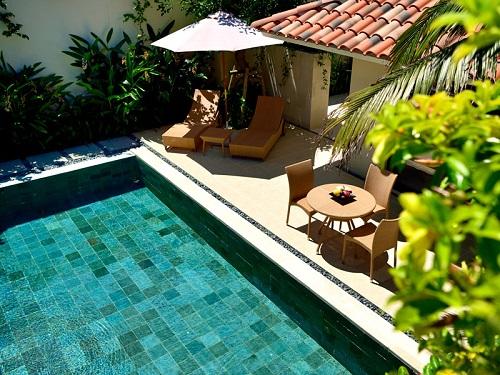 お部屋のプライベートプールの一例