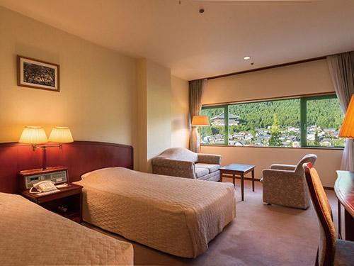 勝山ニューホテル お部屋(洋室)の一例