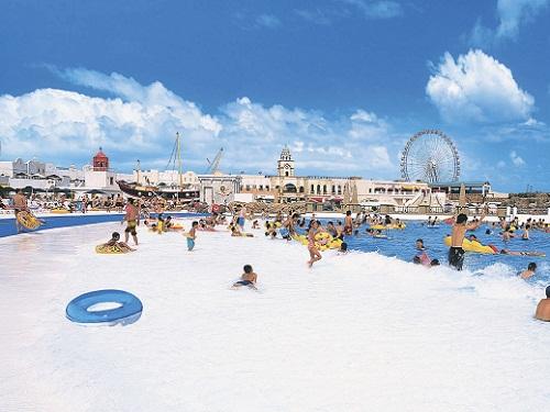 ジョイマーレの浜辺のイメージ