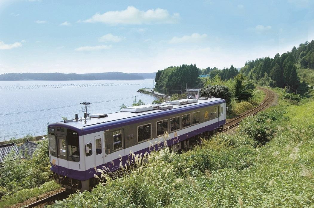 のと鉄道の一例