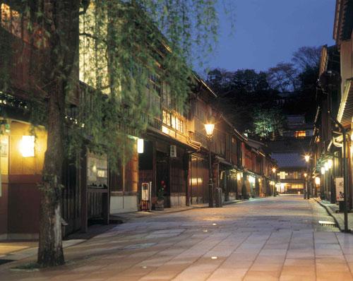 ひがし茶屋街(夕景)のイメージ