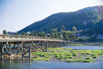 京都 嵐山渡月橋 イメージ