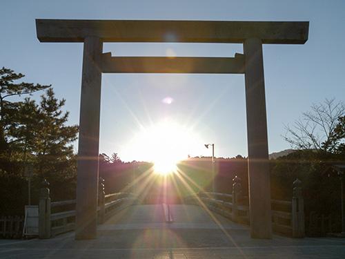 日本人の心のふるさと伊勢神宮へ