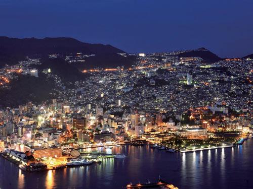 稲佐山からの長崎夜景 イメージ