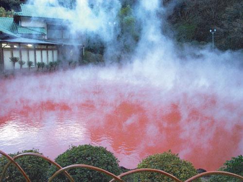 別府地の池地獄(イメージ)※別料金