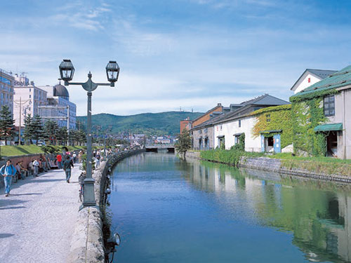 小樽運河 ※3日目バス参加のお客様のみ観光します