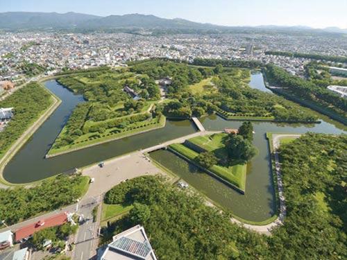 函館 五稜郭公園(7月頃)のイメージ