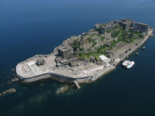 軍艦島のイメージ