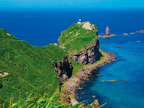 神威岬(7月頃撮影)のイメージ
