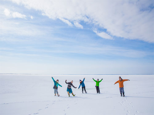 氷平線ミニウォーク体験のイメージ