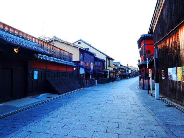 京都 祇園花見小路の一例