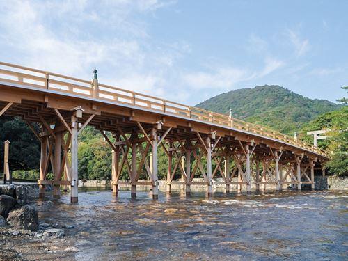 伊勢神宮内宮 宇治橋 のイメージ