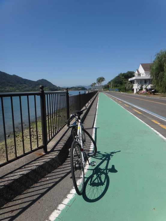 生口島 道路の一例