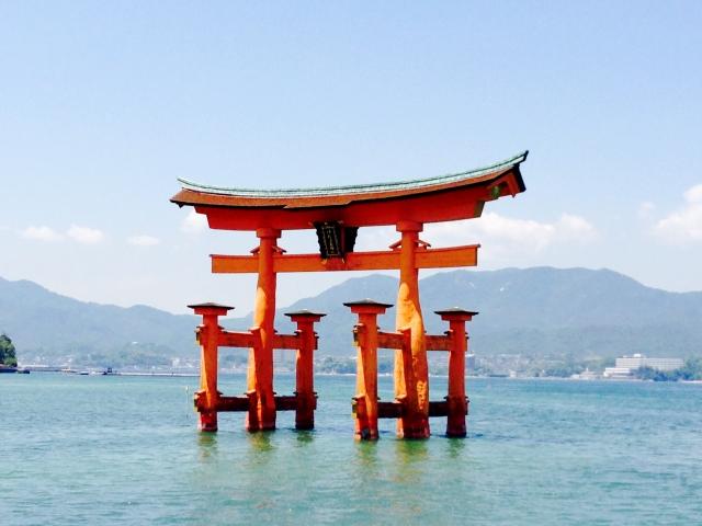 宮島 厳島神社の一例