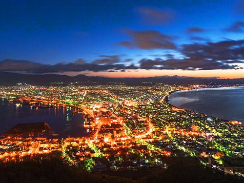 函館 イメージ 函館山夜景(秋) ※函館山までのアクセスは旅行代金に含まれません