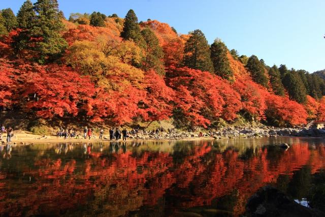 香嵐渓のイメージ