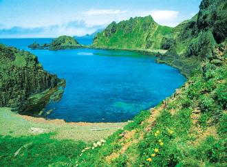 礼文島・スカイ岬(6月頃)のイメージ