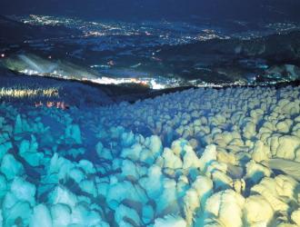 蔵王樹氷ライトアップのイメージ